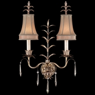 Fine Art Lamps 409050 Pastiche 2-light Crystal Country Sconce