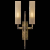 Fine Art Lamps 789950GU Perspectives 2-lamp ADA Compliant Bronze Sconce Lighting