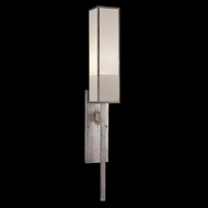 Fine Art Lamps 753950-2GU Perspectives Silver Single Light Contemporary Sconce
