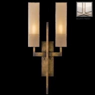Fine Art Lamps 789950-2GU Perspectives Silver 2-lamp Modern ADA Wall Sconce Lighting