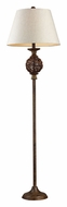 Dimond 111-1086 Atmore Natural 62 Inch Tall Floor Lamp Lighting