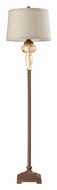 Dimond 113-1128 Lorraine Distressed Pearlescent 67 Inch Tall Floor Lamp