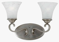 Quoizel DH8602AN Duchess 2-Lamp Vanity Light in Antique Nickel