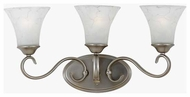 Quoizel DH8603AN Duchess 3-Lamp Vanity Light in Antique Nickel