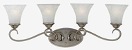 Quoizel DH8604AN Duchess 4-Lamp Vanity Light in Antique Nickel