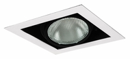 Jesco MYP30-1WB Adjustable Yoke White 8 Inch Long PAR30 Recessed Lighting Fixture - New Construction