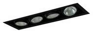 Jesco MYP30-4BB Adjustable Yoke 26 Inch Long 4 Lamp Black Recessed Lighting - New Construction