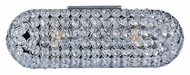 ET2 E24040-20PC Brilliant 14 Inch Wide Crystal 2 Lamp Sconce Lighting Fixture