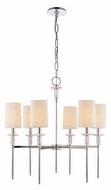 Hudson Valley 8516 Amherst 6-light Modern Style Chandelier Light