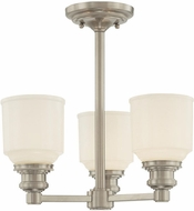 Hudson Valley 3413 Windham Contemporary 3 Light Mini Chandelier