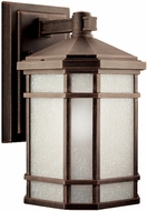 Kichler 11018PR Cameron 14.5 Inch Energy Efficient Fluorescent Outdoor Wall Lantern