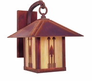 Arroyo Craftsman TRB-12AR Timber Ridge 12 inch Outdoor Wall Sconce with Arrow Filigree