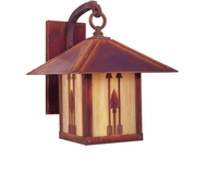 Arroyo Craftsman TRB-9AR Timber Ridge 9 inch Outdoor Wall Sconce with Arrow Filigree
