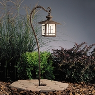 Kichler 15319pz Mission Lantern Landscape Path Light