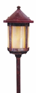 Arroyo Craftsman LV12-B6S Berkeley Outdoor Low Voltage Landscape Light - 19.625 inches tall
