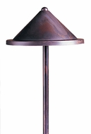Arroyo Craftsman LV12-B8R Berkeley Outdoor Low Voltage Landscape Light - 15.5 inches tall