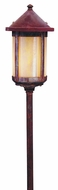 Arroyo Craftsman LV24-B6 Berkeley Outdoor Low Voltage Landscape Light - 33.25 inches tall