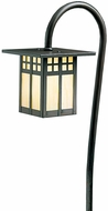 Arroyo Craftsman LV27-G6 Glasgow Craftsman Low Voltage Landscape Light - 27 inches tall