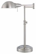Lite Source LS21225PS Gerben Fluorescent Swing Arm Desk Lamp