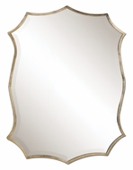 Uttermost 12842 Migiana Oxidized Nickel Plated 30 Inch Tall Wall Mounted Mirror