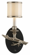 Troy B3442 Drift Bronze Finish 13 Inch Tall Rustic Style Wall Sconce Light Fixture - Left Side