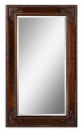 Uttermost 14201 Edeva Wooden 73 Inch Tall Antiqued Gold Leaf Home Mirror