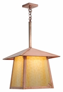 Meyda Tiffany 113226 Square Stillwater Dragonfly 30 Inch Tall Natural Copper Finish Outdoor Pendant Light
