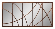 Uttermost 14530 Loudon 60 Inch Tall Oversized Abstract Segmented Mirror