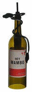 Meyda Tiffany 133792 Personalized Hey Mambo 5 Inch Diameter Wine Bottle Mini Pendant Lamp