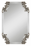 Uttermost 8087 Andretta Frameless 29 Inch Tall Traditional Style Home Mirror