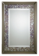 Uttermost 8105 Zandrea 38 Inch Tall Oxidized Bronze Frame Wall Mounted Mirror