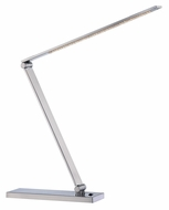 Lite Source LS21478PS Sloane II Contemporary Polished Steel LED Desk Lamp
