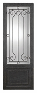 Uttermost 10509 Teulada 74 Inch Tall Iron Frame Wall Mirror