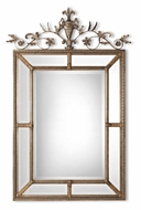 Uttermost 11201-B Le Vau Traditional 62 Inch Tall Beveled French Mirror