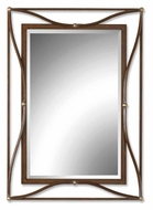 Uttermost 11547-B Thierry Beveled Contemporary 37 Inch Tall 27 Inch Wide Rectangular Mirror