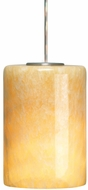Tech Cabo Honey Blond Onyx Low-Voltage Halogen Art Glass Pendant Light