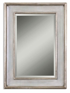 Uttermost 12640-B Ogden Hand Rubbed Sky Blue 36 Inch Tall Beveled Mirror