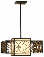 Feiss F2467-2HTBZ-PGD Remy Two Light Pendant