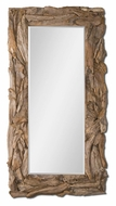 Uttermost 5027 Teak Sculpted Natural Root 78 Inch Tall Rustic Mirror