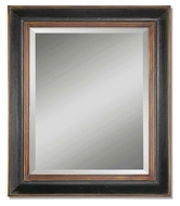 Uttermost 07023-B Fabiano Hand Rubbed Black Finish 42 Inch Tall Wall Mirror
