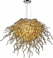 PLC 23616-PC Elixir 7-Light Contemporary Chandelier