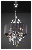 PLC 34112PC Torcello 5-light Chandelier