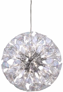 PLC 81662-PC Martini 20 inch Chandelier with Rainbow clear glass