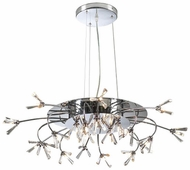 PLC 21136-PC Seville 34 inch Handcut Crystal Chandelier