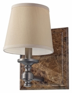 Feiss VS34001-PORB Carrollton Transitional Plated Oil Rubbed Bronze Wall Lighting Sconce
