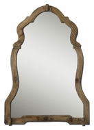 Uttermost 7632 Agustin Ornate Walnut Stained Wood Frame Home Mirror