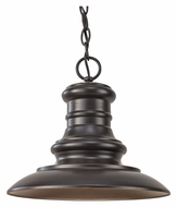 Feiss OL8904RSZ Redding Station Outdoor Restoration Bronze 12 Inch Diameter Hanging Light