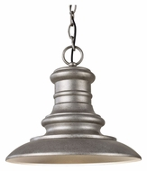 Feiss OL8904TRD Redding Station Tarnished Finish 12 Inch Diameter Exterior Pendant Lighting
