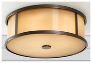 Feiss OL7613 Dakota Rustic Outdoor Flush Mount Ceiling Light