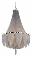 Maxim 21468NKPN Chantilly Polished Nickel 62 Inch Tall 14 Lamp Crystal Chandelier Light